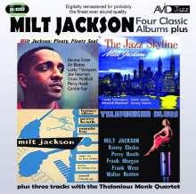 Milt Jackson (1923-1999): Four Classic Albums Plus, 2 CDs