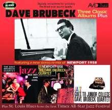 Dave Brubeck (1920-2012): Three Classic Albums Plus, 2 CDs