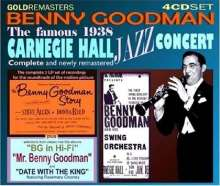 Benny Goodman (1909-1986): Complete Famous Carnegie Hall., 4 CDs