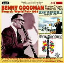 Benny Goodman (1909-1986): Three Classic Albums Plus, 2 CDs