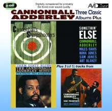 Cannonball Adderley (1928-1975): Three Classic Albums Plus, 2 CDs