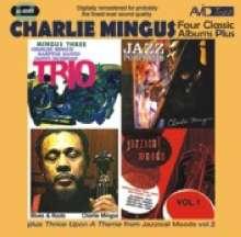 Charles Mingus (1922-1979): Four Classic Albums Plus, 2 CDs