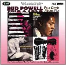 Bud Powell (1924-1966): Four Classic Albums Plus, 2 CDs