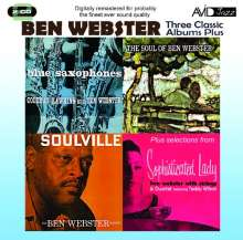 Ben Webster (1909-1973): Three Classic Albums Plus, 2 CDs