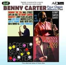 Benny Carter (1907-2003): Four Classic Albums Plus, 2 CDs