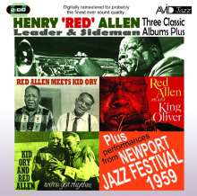 Henry 'Red' Allen (1908-1967): Three Classic Albums Plus, 2 CDs