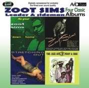 Zoot Sims (1925-1985): 4 Classic Albums 2, 2 CDs
