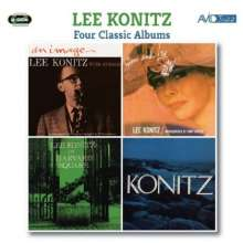 Lee Konitz (geb. 1927): Four Classic Albums, 2 CDs