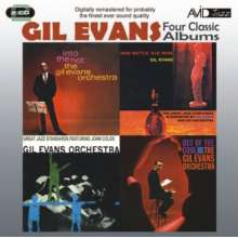 Gil Evans (1912-1988): New Bottle Old Wine / Great Jazz Standards / Out Of The Cool / Into The Hot, 2 CDs