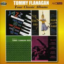 Tommy Flanagan (Jazz) (1930-2001): Four Classic Albums: Jazz It's Magic / The King And I / Trio Overseas / The Cats, 2 CDs