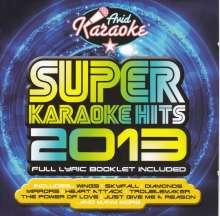 Karaoke & Playback: Super Karaoke Hits 2013, CD