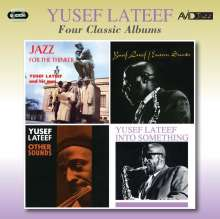 Yusef Lateef (1920-2013): Four Classic Albums: Jazz For The Thinker / Eastern Sounds / Other Sounds / Into Something, 2 CDs