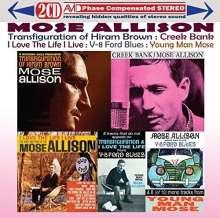 Mose Allison (1927-2016): Four Classic Albums, 2 CDs