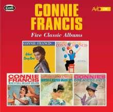 Connie Francis: Five Classic Albums, 2 CDs