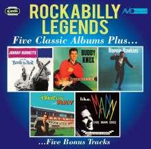 Rockabilly Legends: Five Classic Albums Plus..., 2 CDs