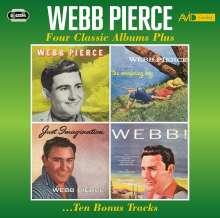 Webb Pierce: Four Classic Albums Plus 10 Bonus Tracks, 2 CDs
