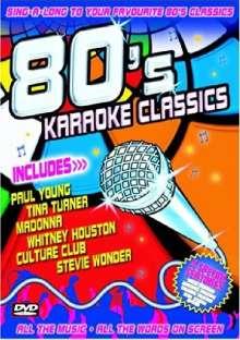 Karaoke & Playback: 80'S Karaoke Classics, DVD