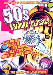 Karaoke & Playback: 50s Karaoke Classics, DVD