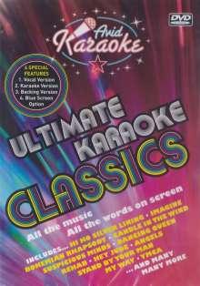 Karaoke & Playback: Ultimate Classics, DVD