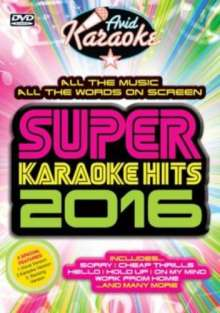 Super Karaoke Hits 2016, DVD