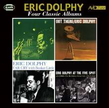 Eric Dolphy (1928-1964): Four Classic Albums, 2 CDs