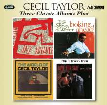 Cecil Taylor (1929-2018): Three Classic Albums Plus, 2 CDs