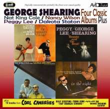 George Shearing (1919-2011): Four Classic Albums Plus, 2 CDs