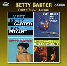 Betty Carter (1930-1998): 4 Classic Albums, 2 CDs