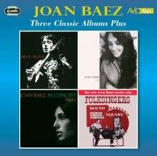 Joan Baez: Three Classic Albums Plus, 2 CDs