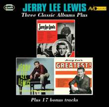 Jerry Lee Lewis: Three Classic Albums Plus, 2 CDs