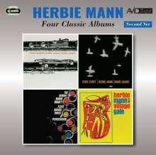 Herbie Mann (1930-2003): Four Classic Albums Second Set, 2 CDs