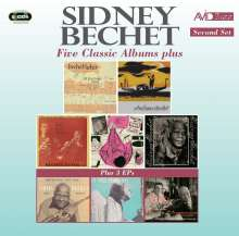 Sidney Bechet (1897-1959): Five Classic Albums Plus 3 EPs (Second Set), 2 CDs