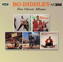 Bo Diddley: Five Classic Albums, 2 CDs