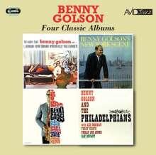 Benny Golson (geb. 1929): Four Classic Albums, 2 CDs