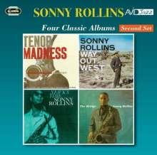 Sonny Rollins (geb. 1930): Four Classic Albums (Second Set), 2 CDs