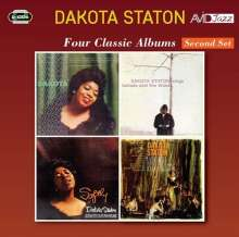 Dakota Staton (1930-2007): Four Classic Albums (Second Set), 2 CDs