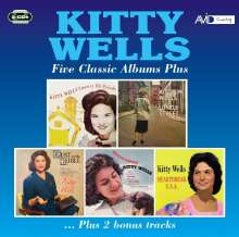 Kitty Wells: Five  Classic Albums Plus, 2 CDs