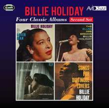 Billie Holiday (1915-1959): Lover Man / The Blues Are Brewin' / Solitude / Songs For Distingue Lovers, 2 CDs