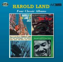 Harold Land (1928-2001): Four Classic Albums, 2 CDs