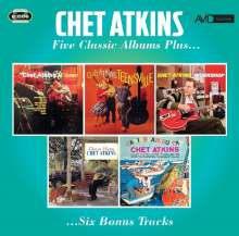 Chet Atkins: Five Classic Albums Plus, 2 CDs
