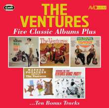 The Ventures: Five Classic-Box Set-, 2 CDs