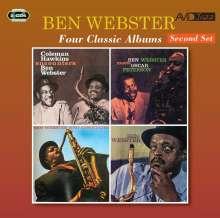 Ben Webster (1909-1973): Four Classic Albums (Second Set), 2 CDs