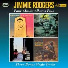 Jimmie Rodgers: Four Classic Albums Plus Three Bonus Single Tracks, 2 CDs