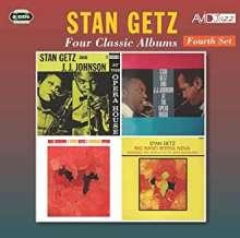 Stan Getz (1927-1991): Four Classic Albums (Fourth Set), 2 CDs