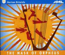 Harrison Birtwistle (geb. 1934): The Masque of Orpheus, 3 CDs