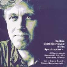 David Matthews (geb. 1943): Symphonie Nr.4, CD