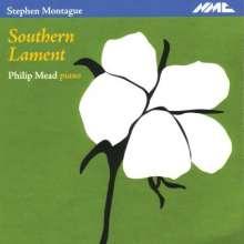 """Stephen Montague (geb. 1943): Klavierwerke und Kammermusik mit Klavier """"Southern Lament"""", CD"""
