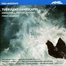 Thea Musgrave (geb. 1928): Turbulent Landscapes, CD