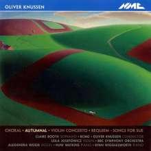 Oliver Knussen (1952-2018): Violinkonzert, CD