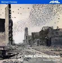 Michael Finnissy (geb. 1946): Streichquartette Nr.2 & 3, CD
